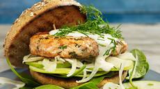 Lakseburger