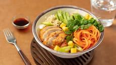 Kylling-bowl med nudler