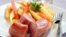 Vossakorv med rotgrønnsaker