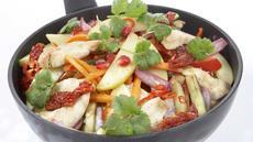 Epler i wok