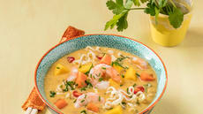Thaisuppe med reker og mango