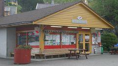 Fasade Nærbutikken Tyssebotnen