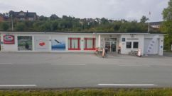 Fasade Nærbutikken Melandsjø