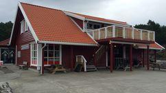 Fasade Nærbutikken Svanøy Handel