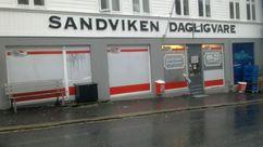 Fasade Nærbutikken Sandviken