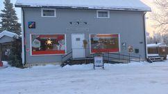 Fasade Nærbutikken Slettås