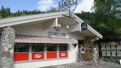 Fasade Nærbutikken Engerdal