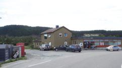 Fasadebilde Nærbutikken Ekne