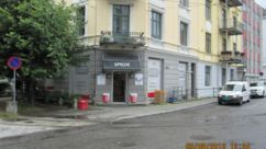 Fasade Nærbutikken Spilde & Co