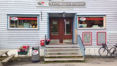 Fasade Nærbutikken Borgund
