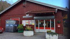 Fasade Nærbutikken Langangen
