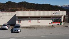 Fasade Nærbutikken Myking Handel