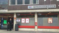 Fasade Nærbutikken Tafjord