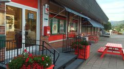 Fasade Nærbutikken Nissedal