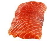 Lakseporsjon 45°, 19,90/stk, 140 g, naturell/marinert, fra fiskedisken