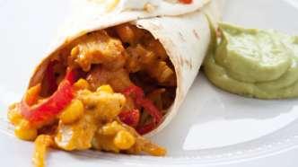 Kylling enchilada