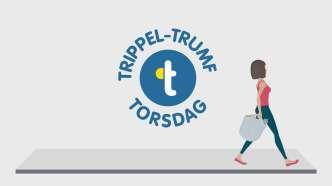 Trippel-Trumf på torsdag