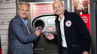 Pantelotteri hos SPAR bidrar med viktig støtte til Røde Kors