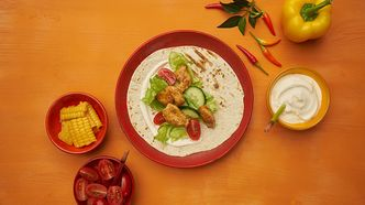 Tortillalefse med tacofyll - september