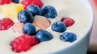 April: Frukt og bær på eggedosis