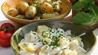 Potetsalat med rømme