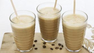 Fløyelsdrikk med kaffe