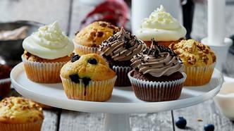 Ukens oppskrift: Grunnoppskrift på lyse muffins