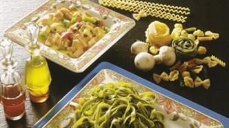 Skinke og pasta