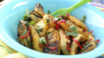 Ananassalat med chili