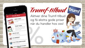 Trumf-tilbud i SPAR-appen
