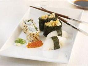 Sushi med kveite