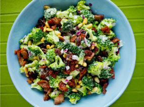 Brokkolisalat med bacon