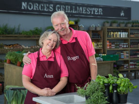 Ekteparet Ann & Roger Meltoft