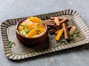 Crema Catalana med appelsin