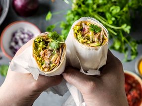 Burritos uten kjøtt
