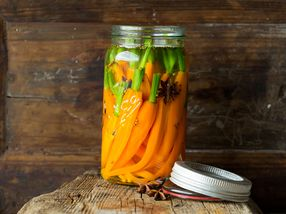 Syltede gulrøtter