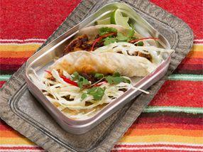 Pulled pork - taco med coleslaw