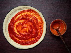 Hjemmelaget pizzasaus