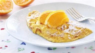 Appelsinomelett