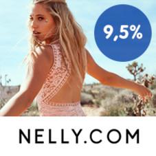 9,5 % Trumf-bonus på Nelly.com