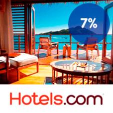 7 % Trumf-bonus hos Hotels.com