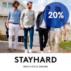 20 % Trumf-bonus hos Stayhard