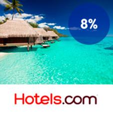 8 % Trumf-bonus hos Hotels.com