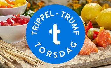 Trippel-trumf utvalgte torsdager