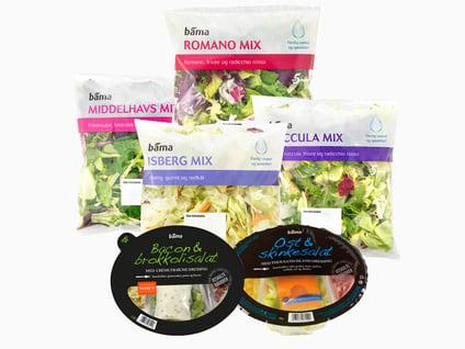Alle kuttede salater
