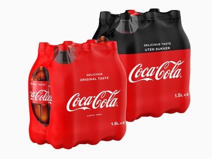 Coca-Cola 1,5l, 6pk