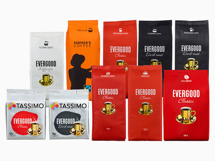 Evergood og Farmer's kaffe