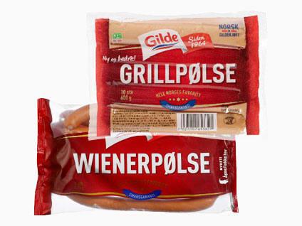 Grill-/wienerpølser