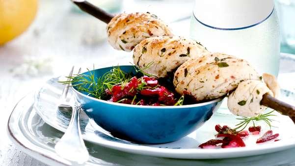 Pinnebrød med timian
