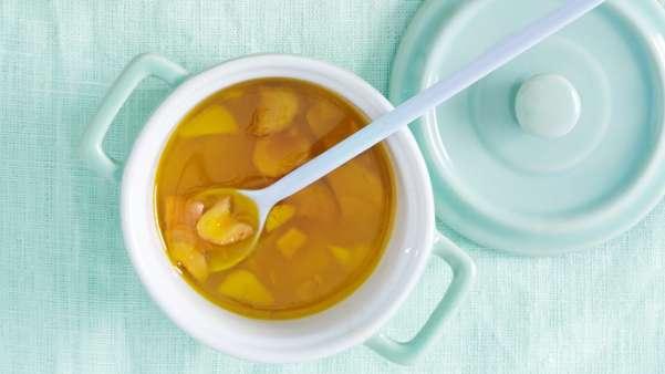 Honning og ingefær marinade